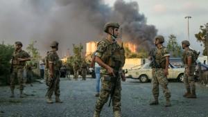 EU und Israel sagen Libanon humanitäre Hilfe zu