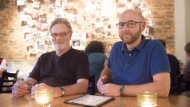 Ehrensache Ehrenamt: Robert Ruckdäschel (links) und Hubert Hein engagieren sich im Switchboard.