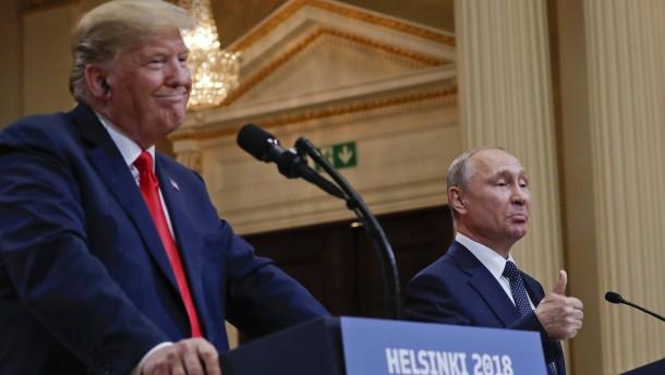 Bereit für Washington – oder Moskau