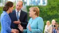 William und Kate zu Besuch in Berlin