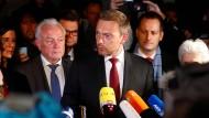 Wollen Wolfgang Kubicki, Christian Lindner und der Rest der FDP noch dasselbe?