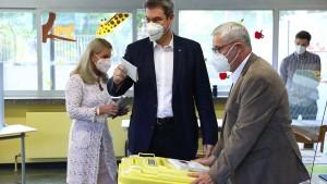 """Söder hat gewählt – """"Jetzt wird alles gut"""""""