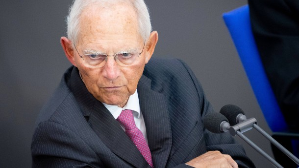 Schäuble möchte Bundestagspräsident bleiben