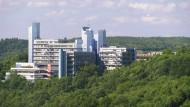 Im Zentrum des Streits um Wissenschaftsfreiheit: die Universität Siegen