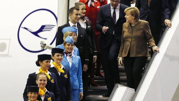 Lufthansa droht mit Insolvenz