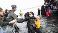 Flüchtlinge in Griechenland sollen direkt wieder zurück in die Türkei