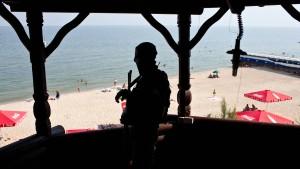 Urlaub unter Waffen