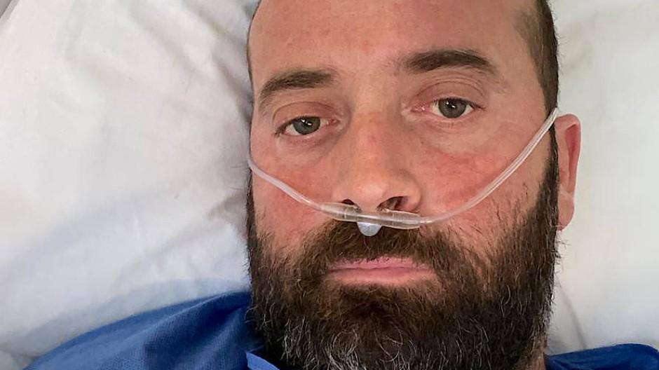 Der 38 Jahre alte Fausto Russo fühlte sich vor seiner Erkrankkung mit Covid-19 fit und war selten krank. Dennoch erkrankte er schwer an dem Virus.