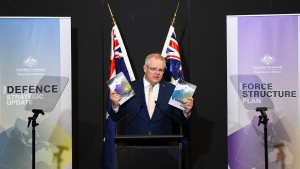 Australien bietet China die Stirn