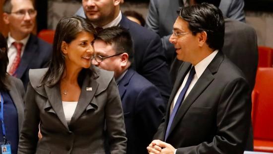 Amerika verhindert UN-Resolution gegen Israel
