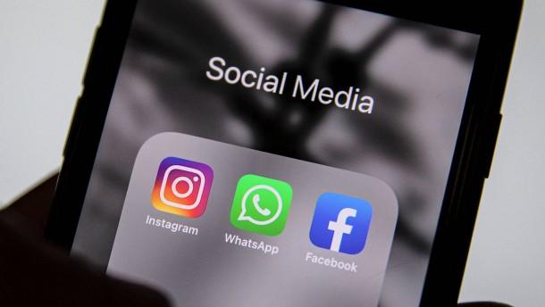 Facebook, WhatsApp und Instagram sind wieder online