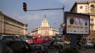 Sofia, die Hauptstadt Bulgariens: Dort lehrt der Ich-Erzähler an einer englischsprachigen Privatschule.