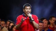 Duterte will Todesstrafe wieder einführen