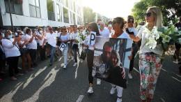 Tausende marschieren für Busfahrer in Frankreich