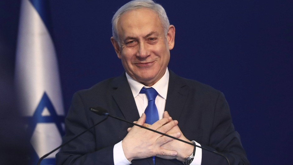 Bis zuletzt zufrieden mit sich: Israels Ministerpräsident Benjamin Netanjahu.