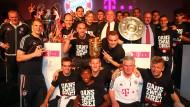 Bayern München feiert das Triple