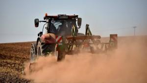 Bauern nicht zufrieden