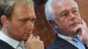 Pressekonferenz der FDP zur Landtagswahl in Nordrhein-Westfalen
