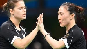Tischtennis-Frauen holen erste Medaille