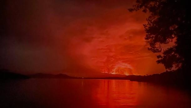Nach Vulkanausbruch in Kongo wird Großstadt Goma evakuiert