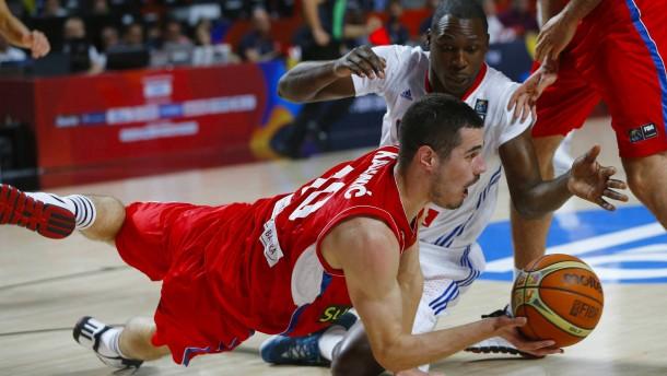 Serbien kämpft sich ins Finale