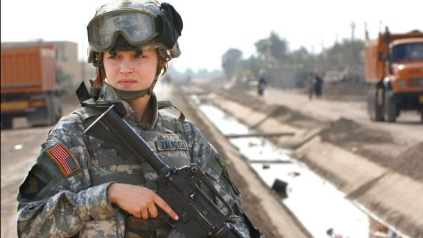 Amerikanische Soldatinnen dürfen auch in Spezialeinheiten