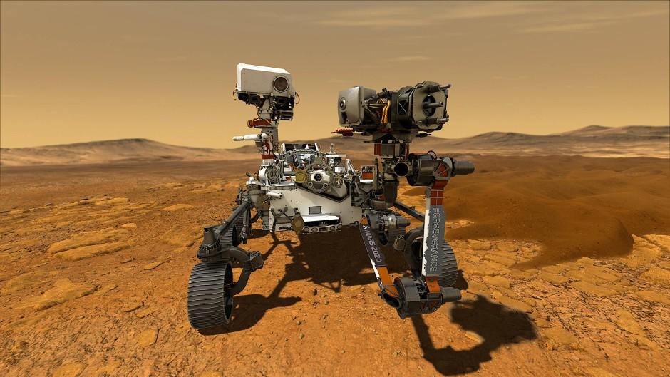 Der Perseverance-Rover orientiert sich in seinem Design eng an seinen Vorgängern.