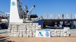 Mehr als fünf Tonnen Kokain auf Segelboot gefunden