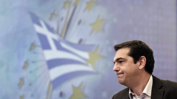 Griechische Linkspartei Syriza liegt vorn