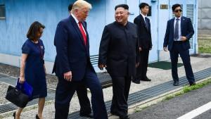 Trump trifft Kim an innerkoreanischen Grenze