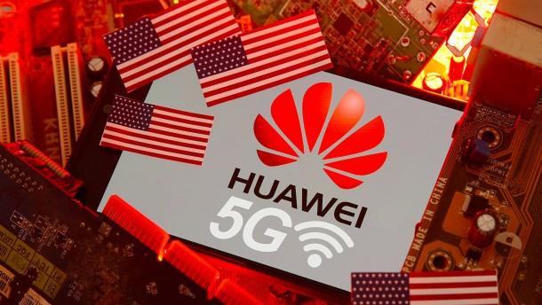 Amerikanische Unternehmen dürfen 5G-Standards mit Huawei abstimmen
