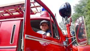 Siebenjähriger bewirbt sich bei der Feuerwehr