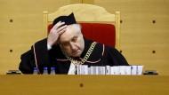 Andrzej Rzeplinski, Präsident des polnischen Verfassungsgerichts
