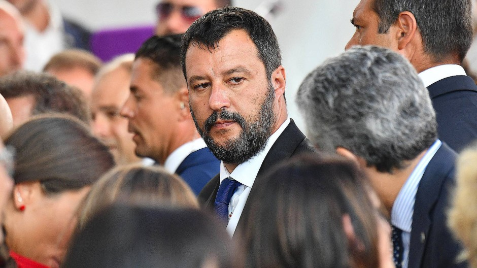 Formiert sich gerade eine breite politische Front gegen Salvini? Der italienische Innenminister strebt weiter Neuwahlen an.