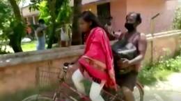 Mädchen aus Indien radelt 1.200 Kilometer