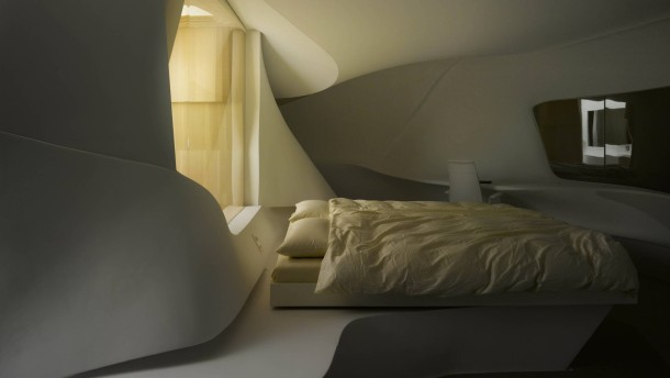 Das Hotelzimmer der Zukunft
