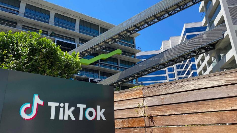 Ein Tiktok-Büro in Los Angeles