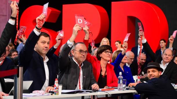 Die SPD sagt vorerst Ja zur Groko