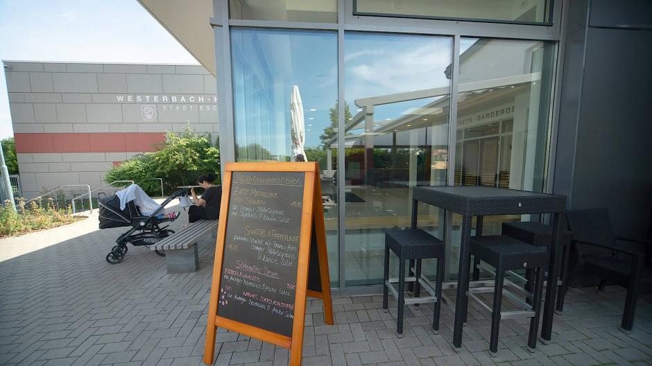 Wird vorerst nicht unterstützt: das Restaurant Westerbachhalle in Eschborn