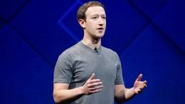 Zuckerberg bricht sein Schweigen