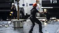 In Istanbul kam es am Donnerstag zu Ausschreitungen zwischen Regierungsgegnern und der Polizei