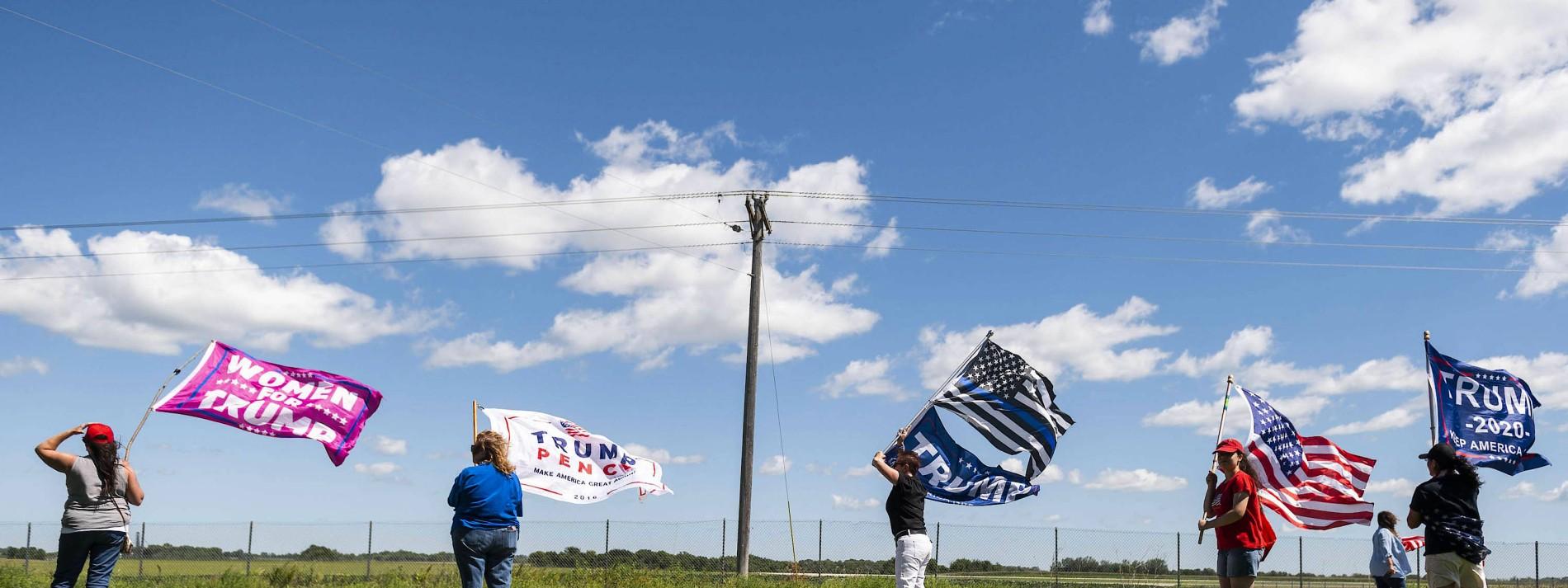 Wo sich Amerikas Präsidentenwahl entscheiden könnte