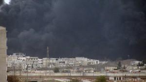 Armee zieht sich um Homs zusammen