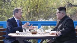Kim Jong-un trifft abermals Südkoreas Präsidenten