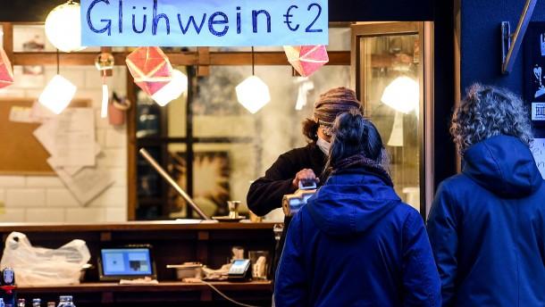 Glühwein auch ohne Weihnachtsmarkt