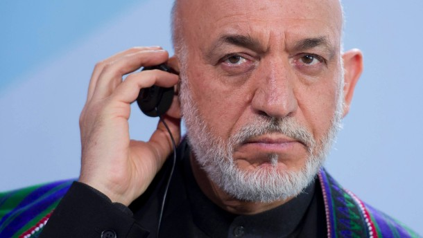 Karzai will Friedensgespräche boykottieren