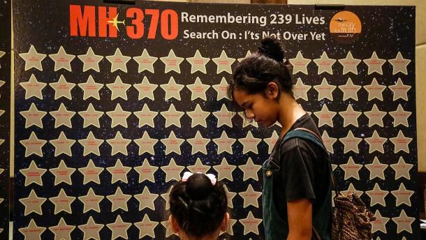 MH370-Angehörige fordern neue Suche