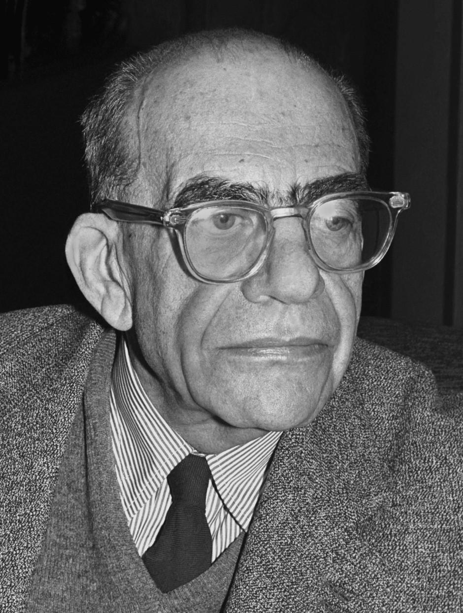 Der Lehrer: Erwin Panofsky