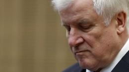 Seehofer will keine Personaldebatten während Sondierungsgesprächen
