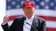 Spaltet die amerikanische Gesellschaft schon jetzt: Donald Trump
